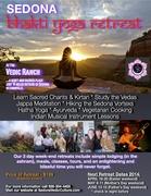 Sedona Bhakti Yoga Retreat!