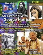 AN EVENING WITH ex-BEATLE GEORGE HARRISON