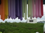 Dipped Candles on our Stall,Thornbury Henges.