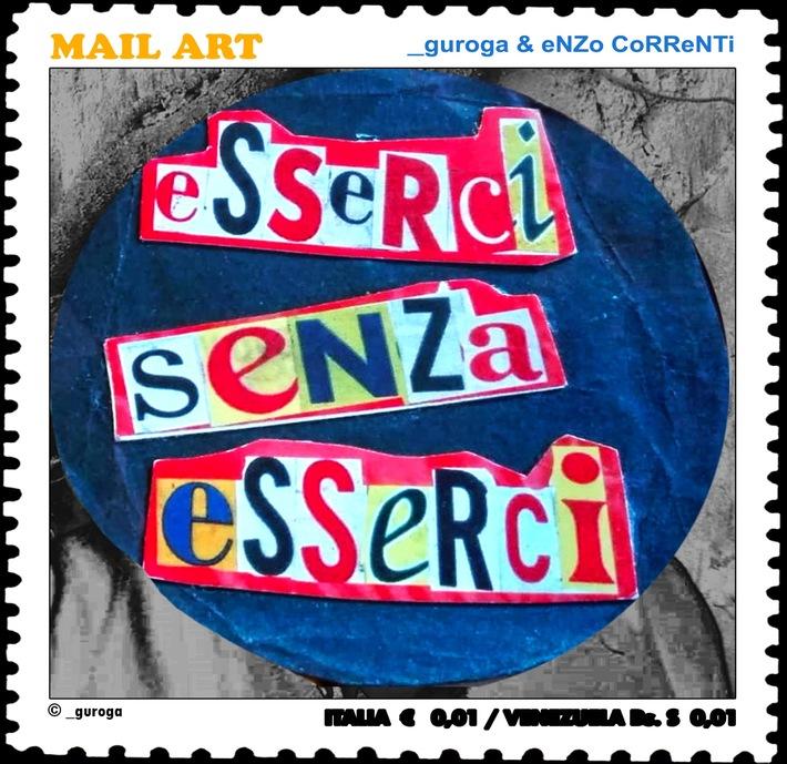 Artist's stamp eSSeRCi SeNZa eSSeRCi by _guroga & Enzo Correnti