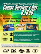 Rochester Honkers 'Cancer Survivor's Day' at Mayo Field