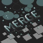 """นิทรรศการ """"MERGE"""""""