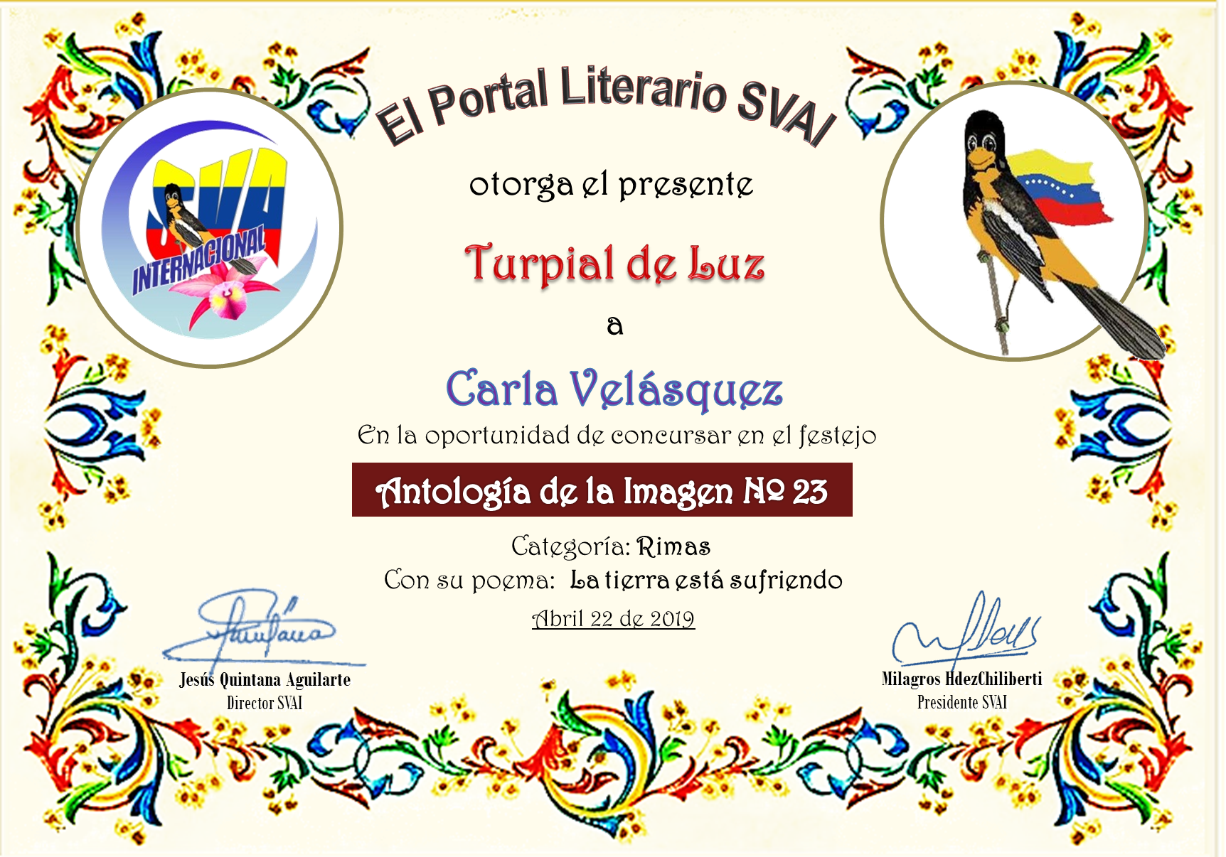 CARLA VELÁSQUEZ
