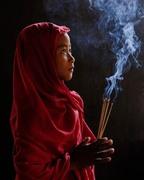 The monk's ascetic monk