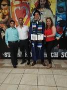 Graduación de mi nieto Daniel el Mayor.