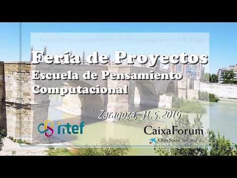Feria de Proyectos de Robótica en CaixaForum, Zaragoza 31 de mayo de 2019