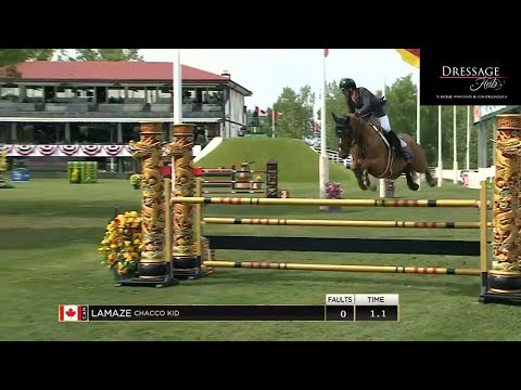 Eric Lamaze Says F*CK Cancer With A Grand Prix Win At Spruce Meadows