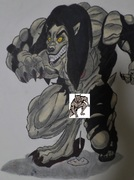 Werewolf Vera Camaj (Censored)