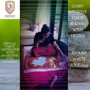 Learn Basic Course of Intuitive Tarot by Devika, Instructor with Awakening Love Academy