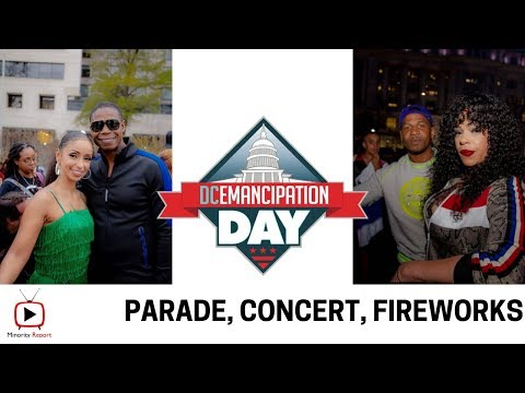 Minority Report |DC Emancipation Day Celebration