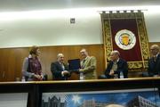 Entrega premio AFA 2010 a Juan Escámez, Catedrático de Filosofía de la Educación