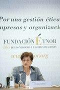 Adela Cortina inaugura el XXI Seminario ÉTNOR