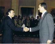 Audiencia Real Principe de Asturias a Junta Directiva de FORETICA (Septiembre 2011)