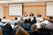 Adela Cortina y Jesus Conill, Catedráticos de Ética, en el Seminario ÉTNOR