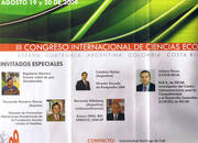 Tríptico informativo del III Congreso de RSC en Colombia (2009)