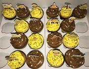 Wegwerkers cupcakes