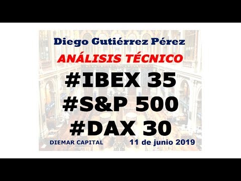 Análisis Técnico del IBEX 35, DAX 30 y S&P 500. (11/06/19).