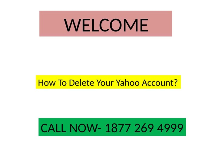 How To Delete Your Yahoo Account