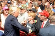 Trump rally Mirro