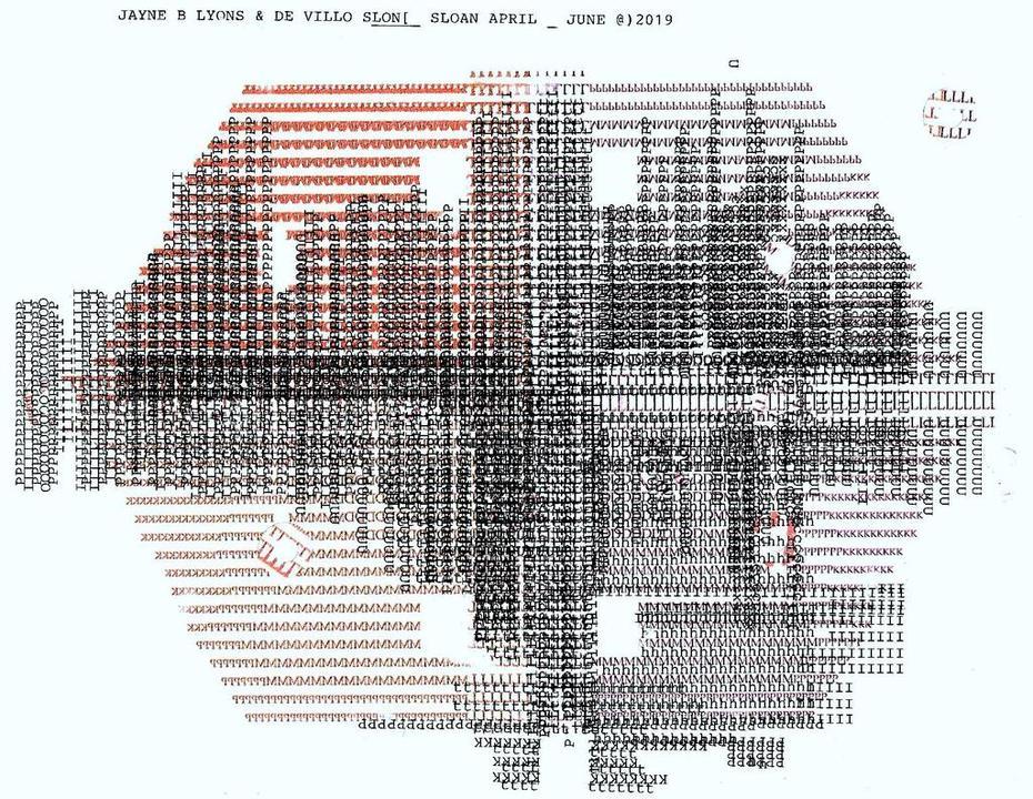 Mail art by Jayne B. Lyons (Minnesota, USA) & De Villo Sloan (New York, USA)