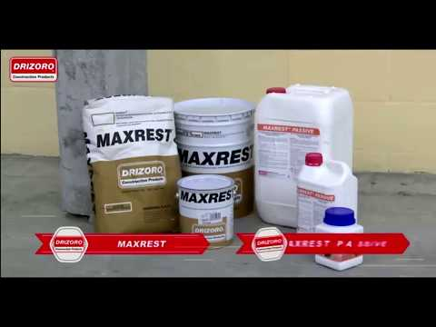 The best spalling repair system ever using Drizoro Maxrest  and Drizoro Maxrest Passive