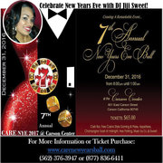 Jiji Sweet NYE with CARE Events! Carson Center!