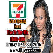 Jiji Sweet In The Streets with 7-eleven Friday Dec. 30, 2016!