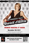 An Evening with Darieth Chisolm