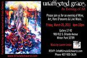 UnAffected Grace Art & Wine Event