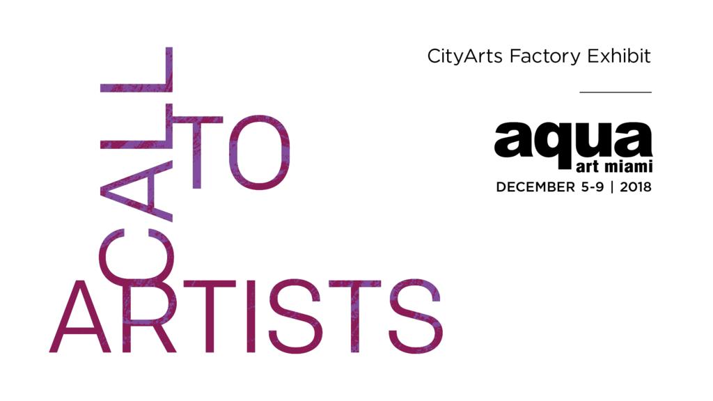 Call to Artists: AQUA Art Miami - Downtown Arts District of Orlando
