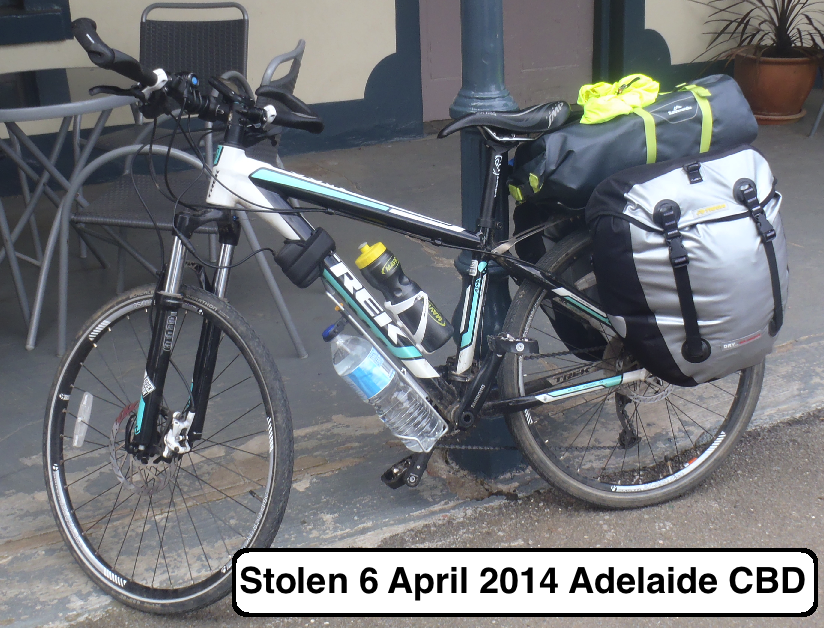 Stolen Bicycles Adelaide Cyclists