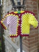 Crochet Baby Surprise Jacket