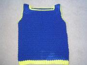 No-sew Crochet Slipover