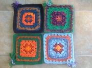October theme - Granny squares
