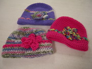 Hats by Evelyne Martin for Clear Lake Methodist