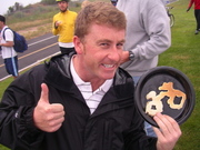 Scott Bull Bike to Work Day Bike Shaped Pancakes