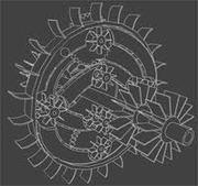 Gearturbine Project Drawing Inside View