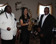 Joyce with Tony Key & Tyrone walls