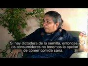 La tragedia de las Semillas Transgénicas, Dra. Vandana Shiva (subtitulado)