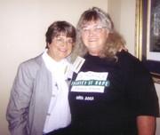 Shirley Dicks & SIster Helen Prejean