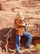 Annie in the Red Rocks of Sedona