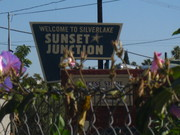 Sunset Junction Sunset Blvd. and Sanborn Ave. Silver Lake Los Angeles