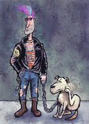 THE DOG AS FELLOW MAN 06