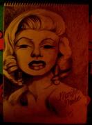 Marilyn Monroe, grafit
