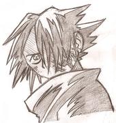 Sasuke med häxmärken