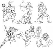 Diablo collage