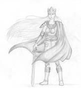 a female warrior