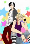 Tokurou och Yuta