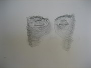 Halft face