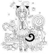 sweet kitten (ofärglagd)